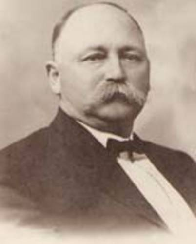 Photo of Sheriff Alfred H. Hammett